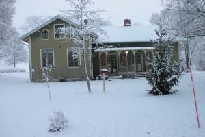 Broby Skola i vinterskrud