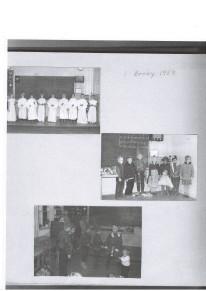 Juluppvisning i Broby Skola 1959