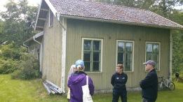 I maj månad 2012 när vi först var och kollade på Broby Skola